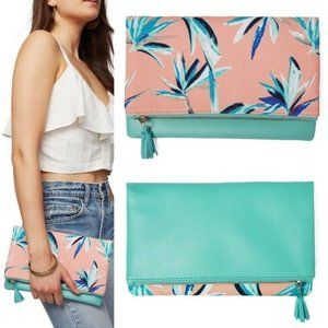 RACHEL PALLY Cosmetic Travel Bag Tropical Print